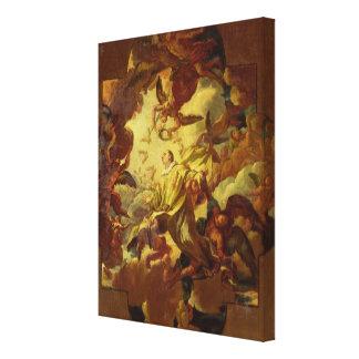 The Apotheosis of St. Stephen Canvas Print