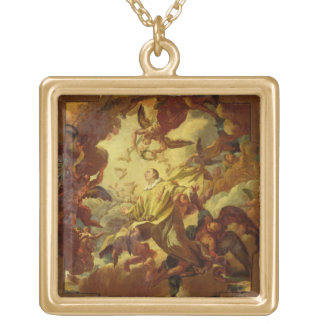 The Apotheosis of St. Stephen Custom Necklace