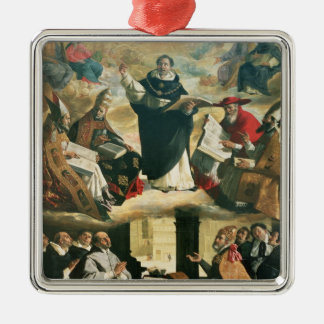 The Apotheosis of St. Thomas Aquinas, 1631 Metal Ornament