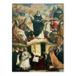 The Apotheosis of St. Thomas Aquinas, 1631 Postcard