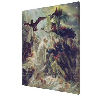 The Apotheosis of the French Heros Gallery Wrapped Canvas