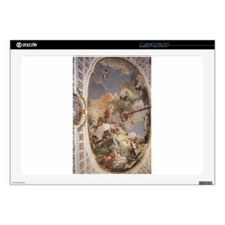 """The Apotheosis of the Spanish Monarchy by Giovanni Decal For 17"""" Laptop"""