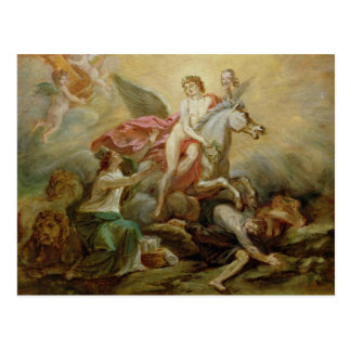 The Apotheosis of Voltaire, 1778 Postcard