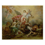 The Apotheosis of Voltaire, 1778 Poster