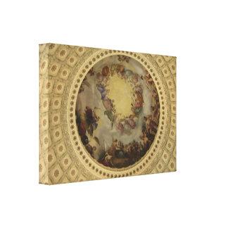 The Apotheosis of Washington Capitol Rotunda Gallery Wrapped Canvas