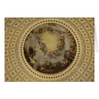 The Apotheosis of Washington - Capitol Rotunda Card