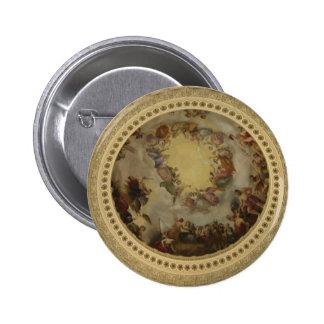 The Apotheosis of Washington  Washington DC Art Button