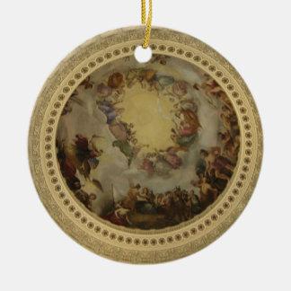 The Apotheosis of Washington  Washington DC Art Ceramic Ornament