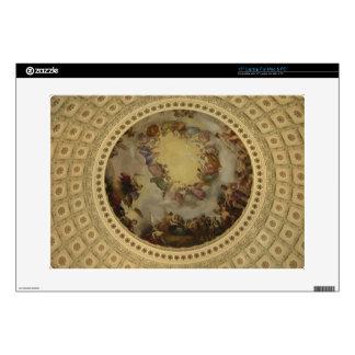 The Apotheosis of Washington  Washington DC Art Decals For Laptops