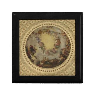 The Apotheosis of Washington  Washington DC Art Keepsake Box