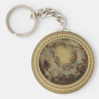 The Apotheosis of Washington  Washington DC Art Keychain