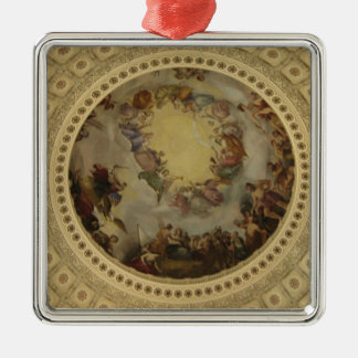 The Apotheosis of Washington  Washington DC Art Metal Ornament