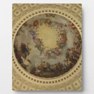 The Apotheosis of Washington  Washington DC Art Plaque