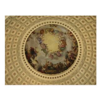 The Apotheosis of Washington  Washington DC Art Postcard