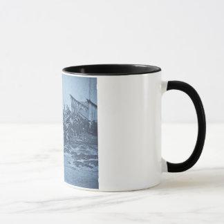 The Appalling Accident at Farmington River Cyan 2 Mug