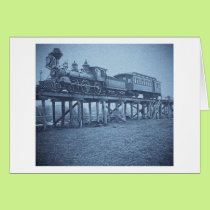 The Appalling Accident at Farmington River (Cyan) Card