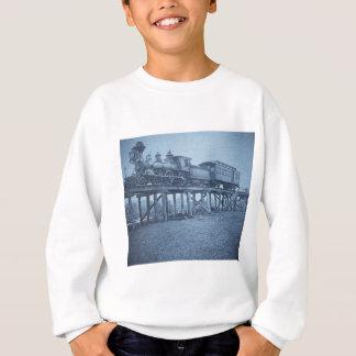 The Appalling Accident at Farmington River (Cyan) Sweatshirt