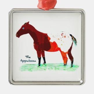 The Appaloosa Metal Ornament
