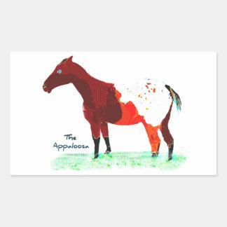 The Appaloosa Sticker