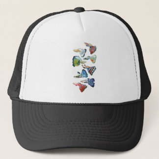 The apparel of Guppy Trucker Hat
