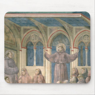 The Apparition at the Chapter House at Arles Mouse Pad
