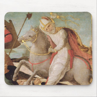 The Apparition of St. Ambrose Mouse Pad