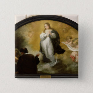 The Apparition of the Virgin, 1665 Button