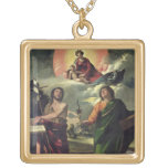 The Apparition of the Virgin to the Saints John th Necklace