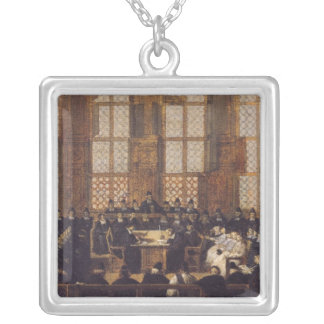 The Appeal of the Dissident Bishops Silver Plated Necklace