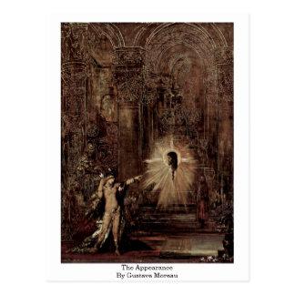 The Appearance By Gustave Moreau Postcard