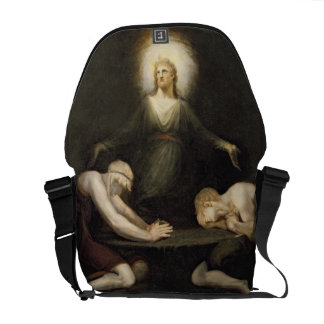 The Appearance of Christ at Emmaus, 1792 (oil on c Courier Bag