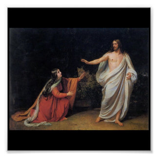 The Appearance of Christ to Mary Magdalene Poster