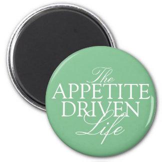 The Appetite-Driven fridge diet magnet