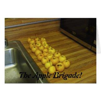 The Apple Brigade! Cards