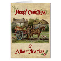 The Apple Cart Christmas & New Year Card