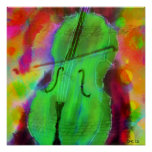 The Apple Cello Poster