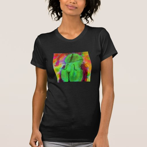 Sally Ann Rowland Apple Cello T-Shirt