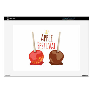 """The Apple Festival Decal For 15"""" Laptop"""