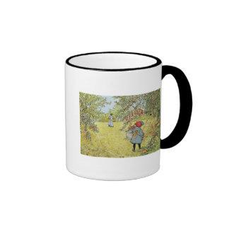 The Apple Harvest Ringer Mug