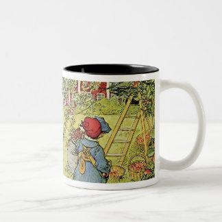 The Apple Harvest Two-Tone Coffee Mug