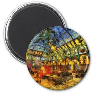The Apple Market Covent Garden London Art Magnet