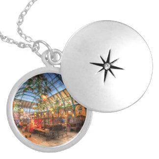 The Apple Market Covent Garden London Locket Necklace