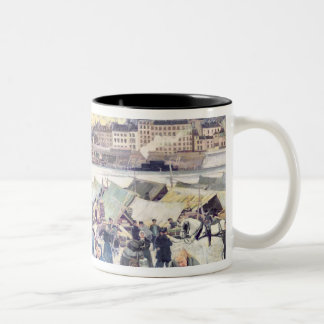 The Apple Market Two-Tone Coffee Mug