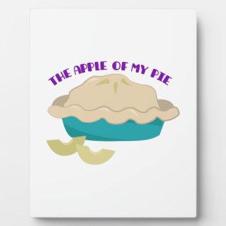 The Apple Of My Pie Photo Plaque