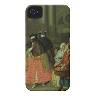 The Apple Seller (oil on canvas) Case-Mate iPhone 4 Case