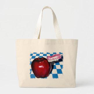 The Apple that Bit Back Canvas Bag