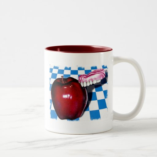 The Apple that Bit Back Coffee Mugs
