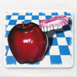 The Apple that Bit Back Mouse Mat