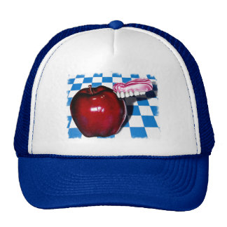 The Apple that Bit Back Trucker Hat