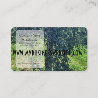 The Apple Tree Business Card